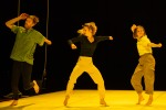 Candoco perform Hot Mess, choreographed by Theo Clinkard performed at Laban Theatre, London, UK, 25th July2019